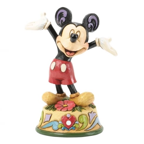 Disney Traditions October Mickey Mouse Figurine