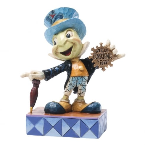 Disney Traditions Official Conscience Jiminy Cricket Figurine