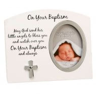 On Your Baptism 3 x 4 Photo Frame