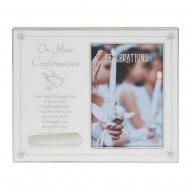 On Your Confirmation With Verse & Engraving Plate 4 x 6 Photo Frame CG1664CON