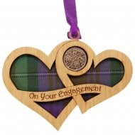 On Your Engagement Hearts - Lucky Sixpence