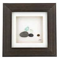 Once Upon A Pebble Wall Art 6 x 6