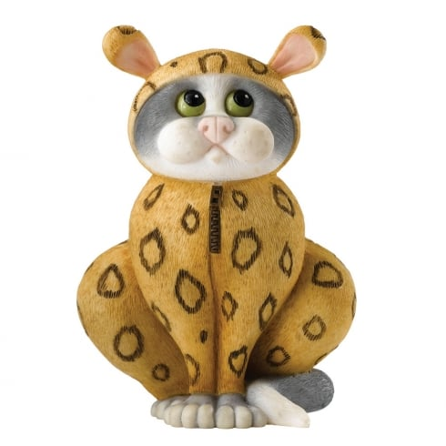 Comic & Curious Cats Onesie Figurine