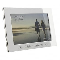 Our 25th Anniversary 7 x 5 Frame