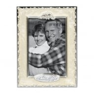 Our 25th Silver Anniversary 4 x 6 Photo Frame