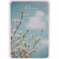 Out Hearts Go Out To You - Sympathy Bereavement Card 11354904