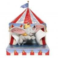 Over the Big Top Dumbo Figurine