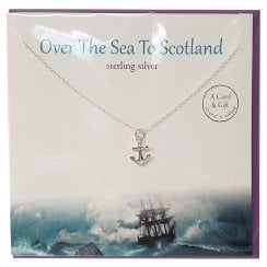 Over The Sea To Scotland Anchor Pendant