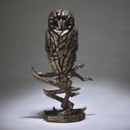Owl Figurine - Golden