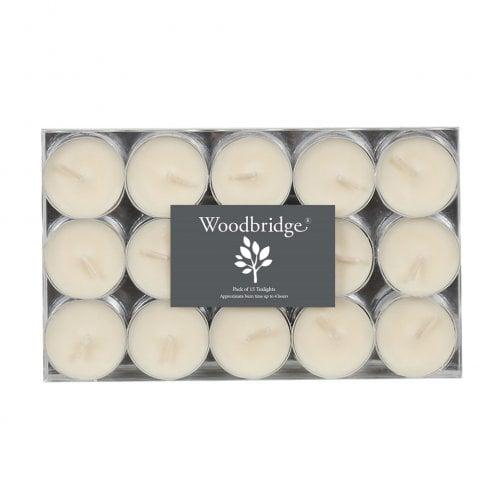 Aromatize Ltd Pack Of 15 Ivory Tealights