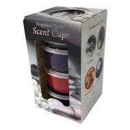 Pack Of 4 Soy Blend Scent Cups Gift Set