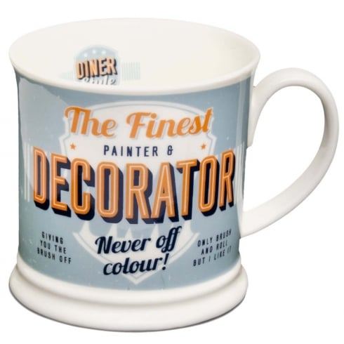 Diner Style Mugs Painter & Decorator