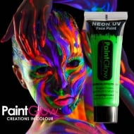PaintGlow Neon UV Face & Body Paint Green