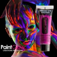 PaintGlow Neon UV Face & Body Paint Pink