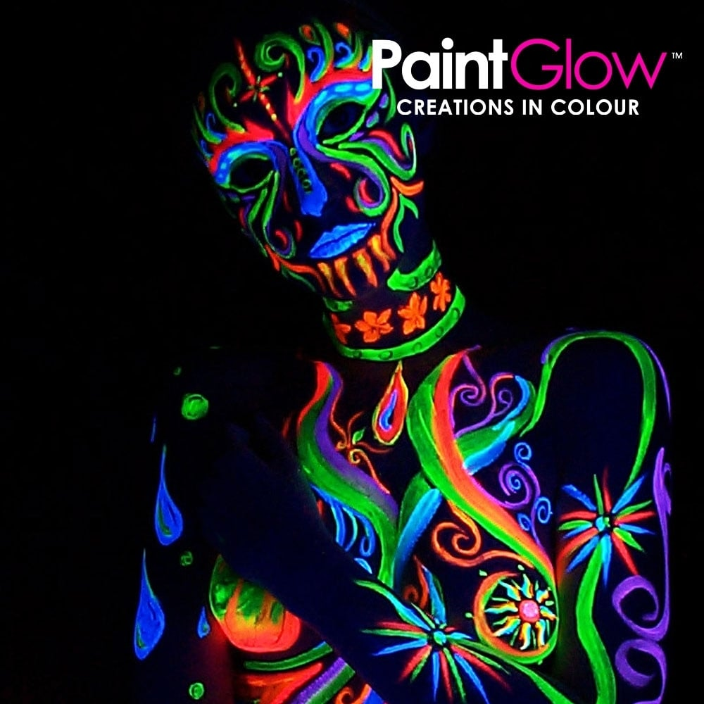 ... Wicked Costumes PaintGlow Neon UV Face   Body Paint White 825fe297fb