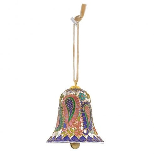 Enesco Paisley Bell Hanging Ornament