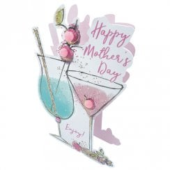 Paper Dazzle 3D Pop Out Cocktails Mothers Day Card