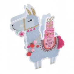 Paper Dazzle 3D Pop Out Llama Happy Mothers Day Card