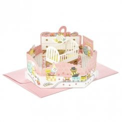 Paper Wonder Baby Girl Pop Up 3D Birthday Card 25522166