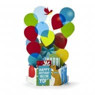 Paper Wonder Birthday Balloons 3D Pop Up Card 25522165