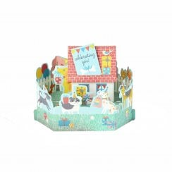 Paper Wonder Celebrating You! 3D Pop Up Birthday Card 25522156