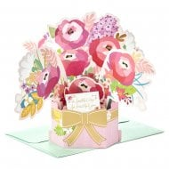 Paper Wonder Flowers 3D Pop Up Birthday Card 25522157