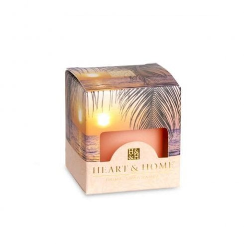 Heart & Home Paradise Sunset Scented Votive Candle