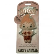 Party Animal Angel Keyring