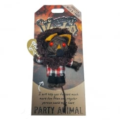 Party Animal Voodoo Keyring