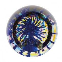 Party Poppers Blue Paperweight