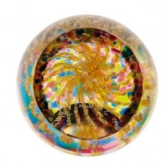 Party Poppers Gold Paperweight