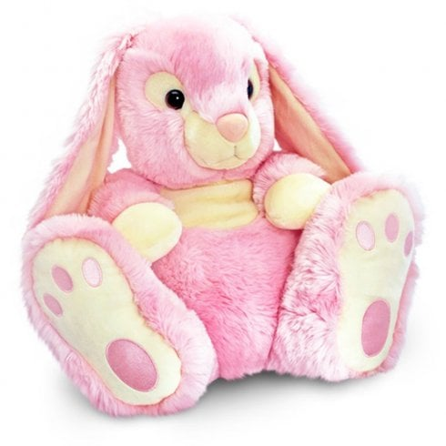 Keel Toys Patchfoot Rabbit 25cm Pink