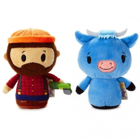 Hallmark Itty Bittys Paul Bunyan and Babe the Blue Ox Storybook