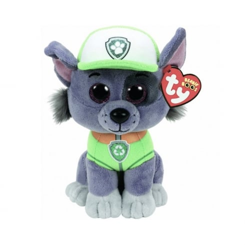 f72f5ed061c TY Paw Patrol - Rocky Dog Small Plush Soft Toy 41212