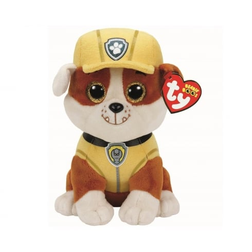 TY Paw Patrol Beanie Boos - Rubble Bulldog Small Plush