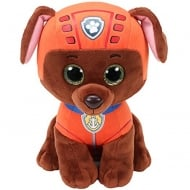 Paw Patrol Beanie Boos - Zuma Chocolate Labrador Plush Soft Toy