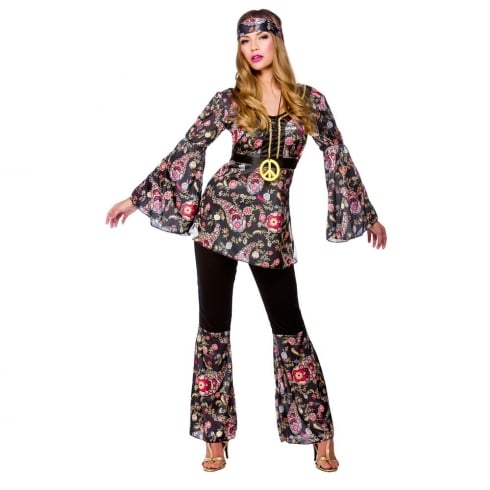 Wicked Costumes Peace Lovin Hippie Large