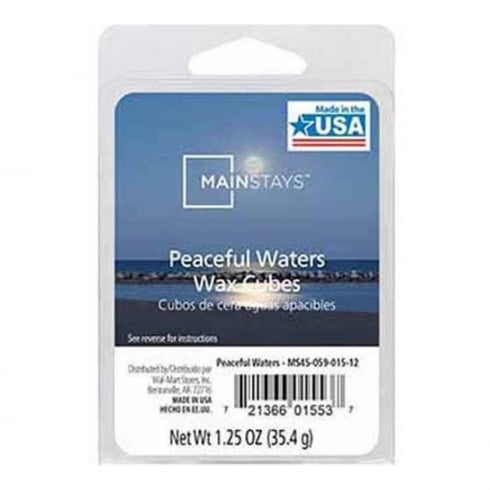 Mainstays Peaceful Waters Scented Wax Cube Melts