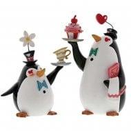 Penguin Waiters Figurine