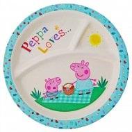 Peppa Pig-Bamboo Organic Plate