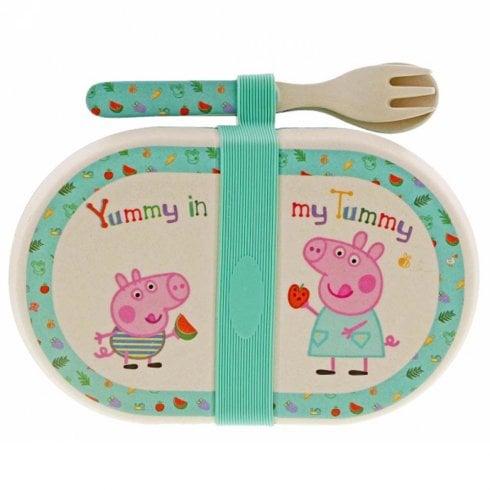 Peppa Pig Peppa Pig- Bamboo Snack Box Set