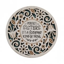 Perfect Sisters Coaster