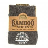 Personalised Bamboo Socks - Anthony