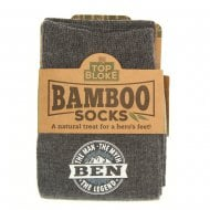 Personalised Bamboo Socks - Ben