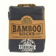 Personalised Bamboo Socks - Fishing