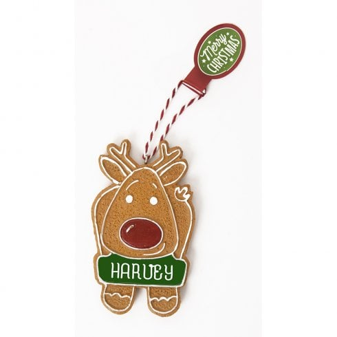 History & Heraldry Personalised Gingerbread Tree Decorations - Harvey
