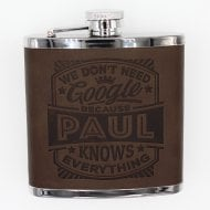 Personalised Hip Flask - Paul