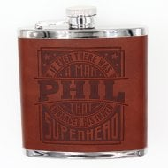 Personalised Hip Flask - Phil