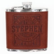 Personalised Hip Flask - Stephen