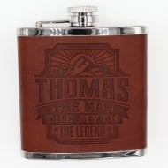 Personalised Hip Flask - Thomas